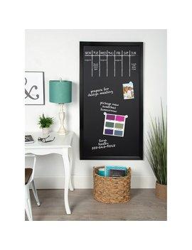 Designovation Beatrice Wood Framed Magnetic Chalkboard by Designovation