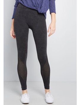 Equipped To Kick It Leggings by Modcloth