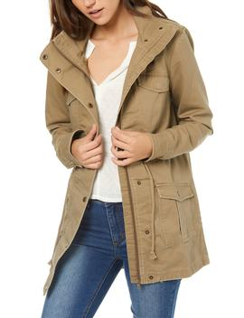 Onofre Lace Up Hooded Jacket by O'neill