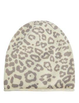 Leopard Beanie Hat by Intermix