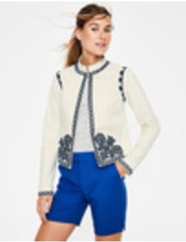 Lisbon Embroidered Jacket by Boden