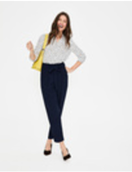Melina Paperbag Trousers by Boden