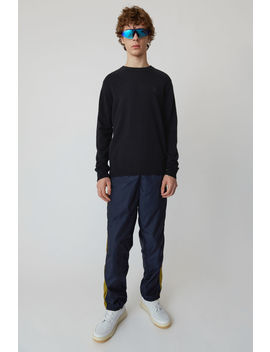 Crewneck Sweater Black by Acne Studios