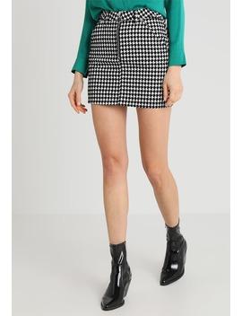 Dog Tooth Skirt   Minikjol by Topshop
