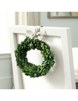 Preserved Boxwood Mini Wreath by Ballard Designs