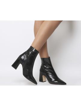 Alto  Pointed Block Heel Shape by Office