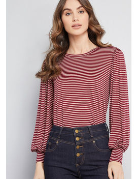 Beyond Basic Long Sleeve Top by Modcloth