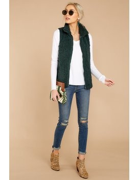 Never Better Evergreen Wubby Vest by Staccato