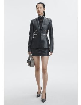 Leather Blazer by Alexander Wang