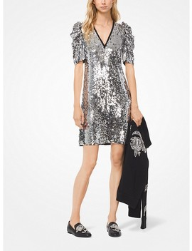 Sequined Georgette Dress by Michael Michael Kors