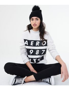 Aero 1987 Nyc Crew Sweatshirt by Aeropostale