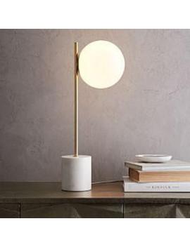 Sphere + Stem Table Lamp by West Elm