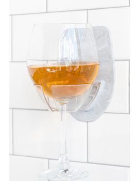 Sipski Marble Shower Wine Holder by Francesca's