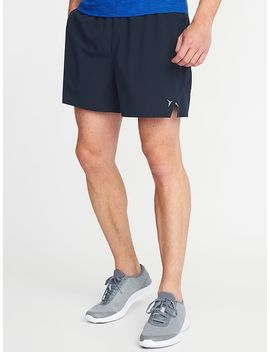 "Quick Dry 4 Way Stretch Run Shorts For Men (5"") by Old Navy"