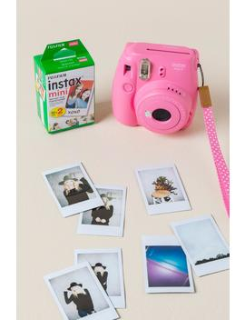 Fujifilm Instax Mini 9 Flamingo Instant Camera by Francesca's