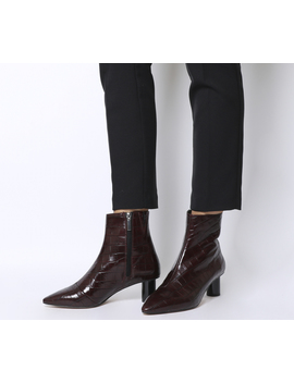 Afflict  Cylindrical Heel Boot by Office