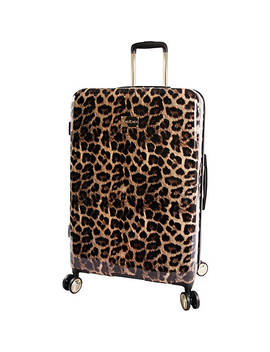 """Adriana 29"""" Hardside Checked Spinner Luggage by Bebe"""