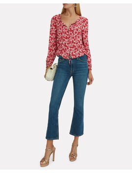Georgiana Printed Top by Intermix