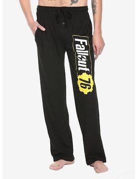 Fallout 76 Logo Guys Pajama Pants by Hot Topic