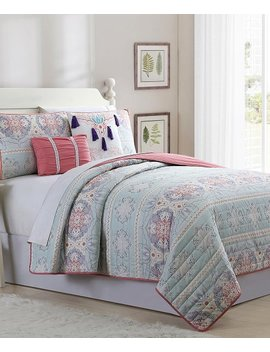 Rama Five Piece Reversible Quilt Set by Zulily