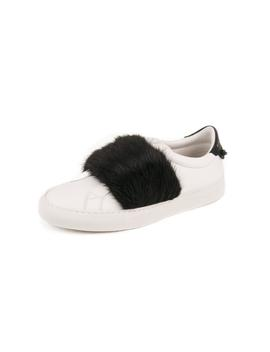 Urban Street Low Top Sneakers   White / Black by Givenchy