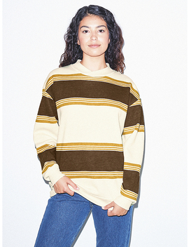 Unisex Flex Fleece Crossneck Pullover by American Apparel