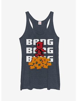 Marvel Deadpool Pixelated Tacos Girls Tank by Hot Topic