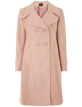Blush Boucle Midi Coat by Dorothy Perkins