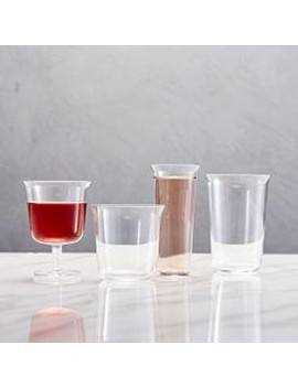 Trapeze Glassware (Set Of 4) by West Elm