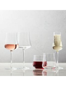 Hipped Glassware (Set Of 4) by West Elm
