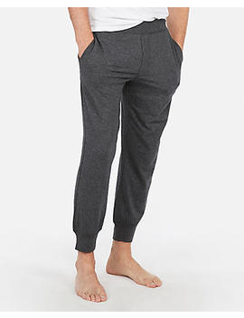 Exp Weekend Heather Jogger Pant by Express