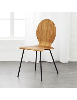 Sable Acacia Chair by Crate&Barrel