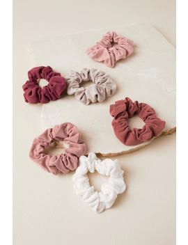 Nancy Cupro Scrunchie Set by Francesca's