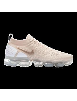Nike Women's Air Vapor Max Flyknit 2 Running Shoes   Cream/Gold/White by Sport Chek