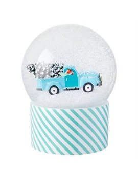 Snow Globe Fox Truck by Indigo