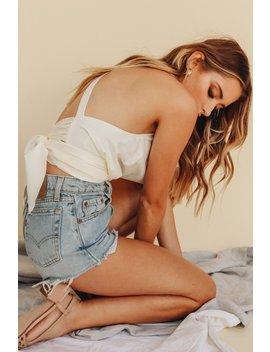 Amber Cowl Neck Tie Back Top by Vergegirl