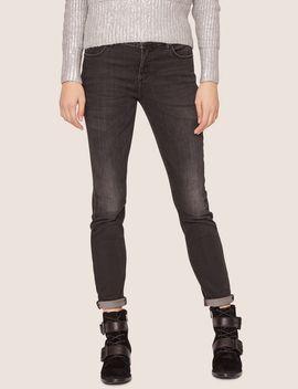 J01 Super Skinny Washed Dark Grey Jean by Armani Exchange