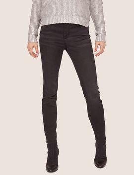 J69 Super Skinny Black Lift Up Jean by Armani Exchange