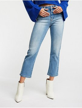 Straight Leg Crop Jeans by Charlotte Russe
