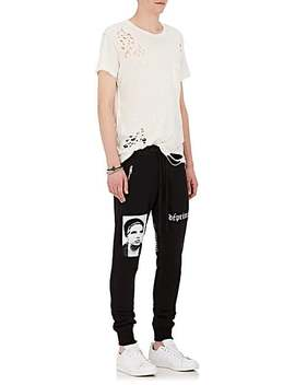 Cotton French Terry Jogger Pants by Enfants Riches Deprimes