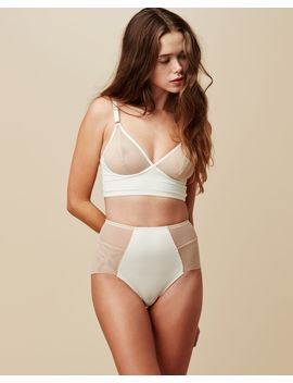Luna Long Line Bra by Fortnight Lingerie Journelle Coco De Mer Only Hearts Simone Perele Coco De Mer
