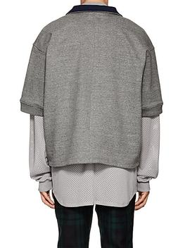 Cotton Blend Polo Style Sweatshirt by Fear Of God