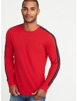 Soft Washed Sleeve Stripe Tee For Men by Old Navy