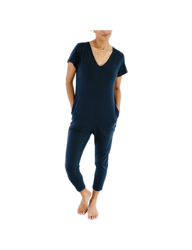 Smash + Tess The Sunday Romper Naturally Navy by Well