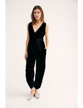 All Natural Velvet Jumpsuit by Free People