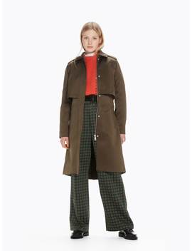 Trench Coat Vert Militaire by Scotch&Soda