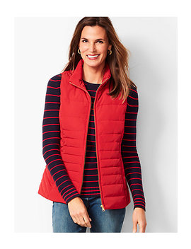 Down Puffer Vest by Talbots