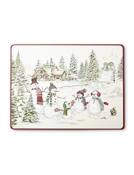 Snowman Hardmat by Williams   Sonoma