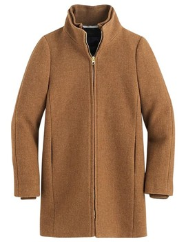 Heather Camel Lodge Coat by J.Crew