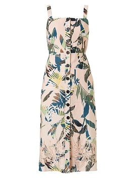 Mallorca Embroidered Dress by Witchery